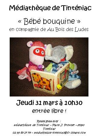 Bébé Bouquine 31 Mars 2011