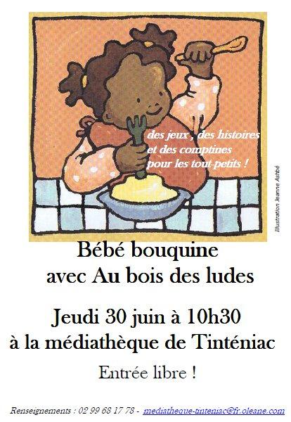 Bébé Bouquine Juin