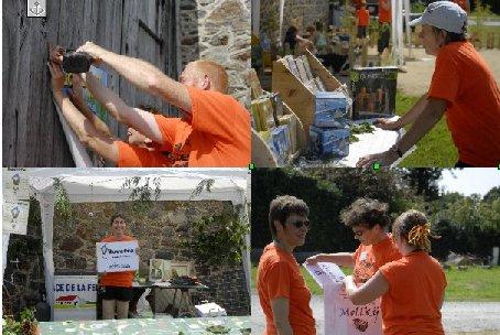 Les bénévoles en action !