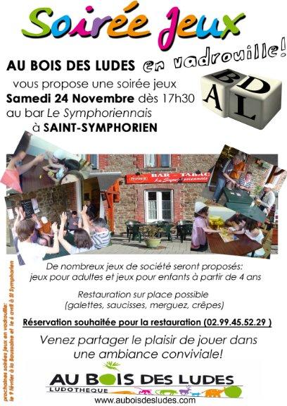 Soirée jeux en vadrouille / Samedi 24/11/12