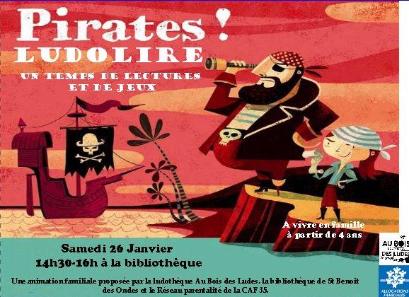 LudoLire Pirates ! à St Benoit des Ondes