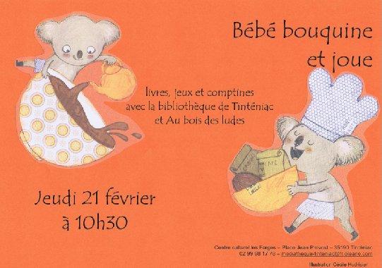 """Bébé Bouquine et Joue """"Gourmandises"""""""