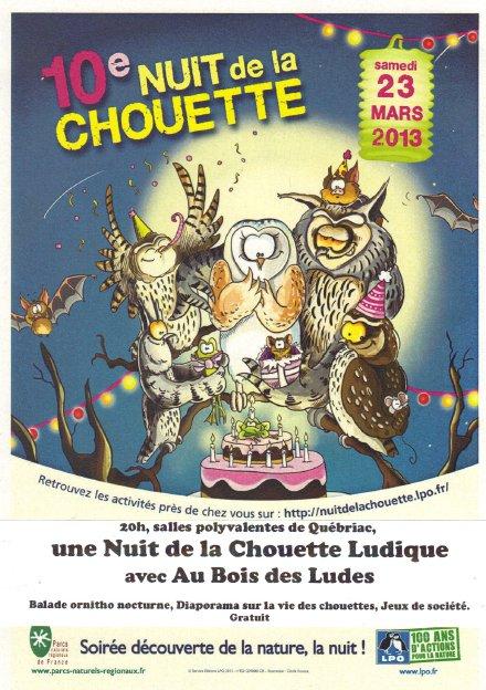 Nuit de la chouette ludique 2013