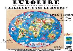 """Ludolire """"Ailleurs"""" à Dingé"""