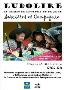"""Ludolire """"Sorcières"""" à Meillac"""
