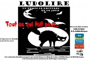"""Ludolire """"Tout ce qui fait peur"""" à Hédé-Bazouges"""