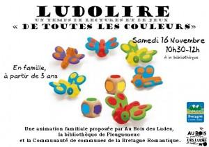 """Ludolire """"De toutes les couleurs"""" à Pleugueneuc"""