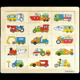 """Ludolire """"Drôles de véhicules"""" à La Baussaine"""