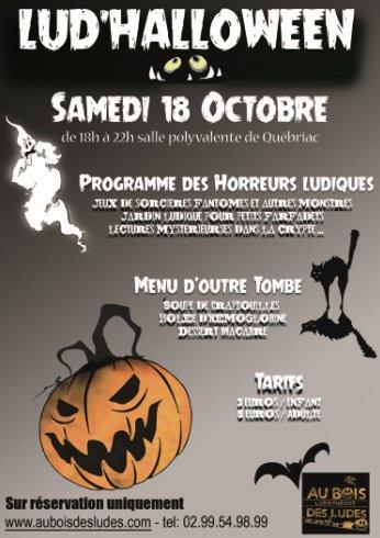 Flyer Lud'Halloween 2014