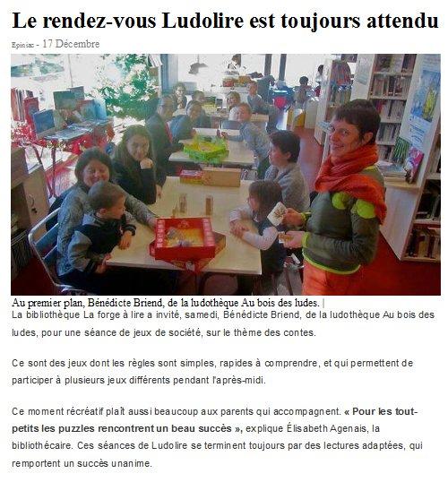 """Ludolire """"Autour des contes"""" à Epiniac"""