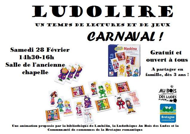 """Ludolire """"Carnaval"""" à Lanhélin"""