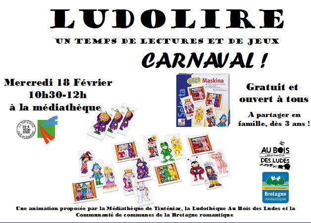 "Ludolire ""Carnaval"" à Tinténiac"