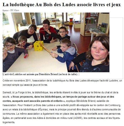 """Ludolire """"Chat et souris"""" à Epiniac"""