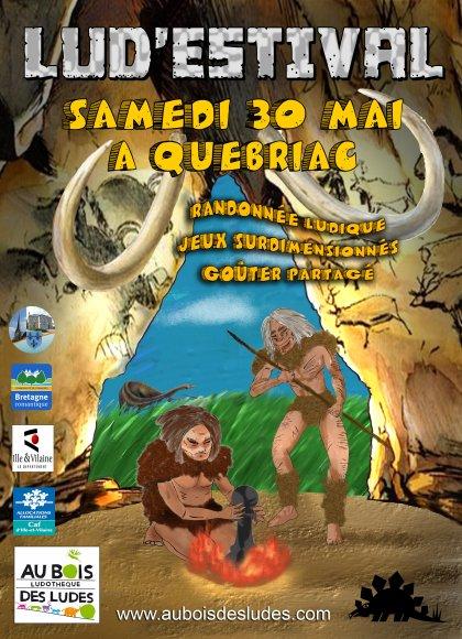 Lud'Estival 2015 : Au Temps des Cavernes