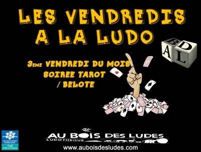 """Les Vendredis à la ludo : Soirée """"Tarot et Belote"""""""