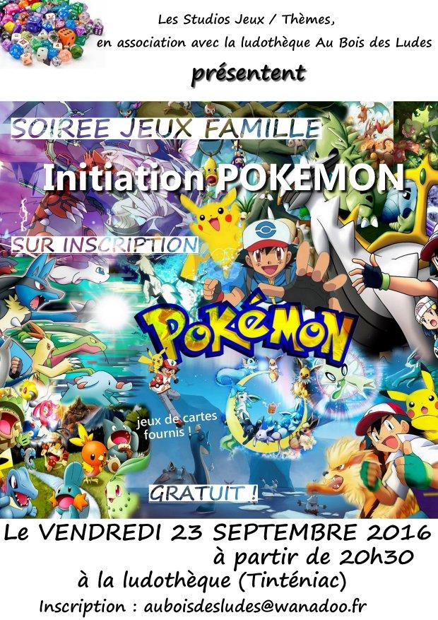 """Soirée Jeux Famille """"Pokémon, le jeu de cartes"""""""